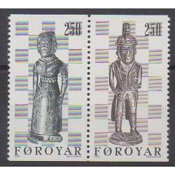 Faroe (Islands) - 1983 - Nb 76a - Chess