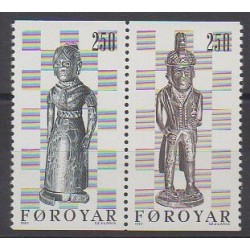 Féroé (Iles) - 1983 - No 76a - Échecs