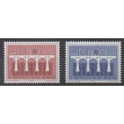 Féroé (Iles) - 1984 - No 91/92 - Europa
