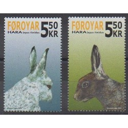 Faroe (Islands) - 2005 - Nb 522/523 - Mamals