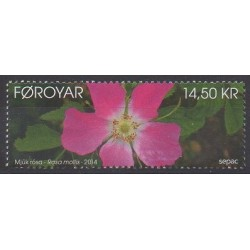 Faroe (Islands) - 2014 - Nb 794 - Flowers