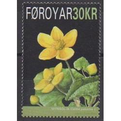 Faroe (Islands) - 2008 - Nb 634 - Flowers