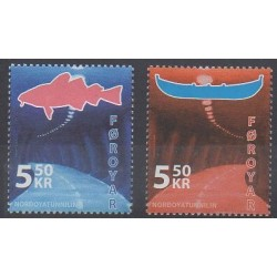 Féroé (Iles) - 2006 - No 570/571
