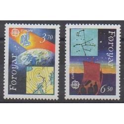 Féroé (Iles) - 1991 - No 211/212 - Espace - Europa