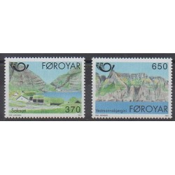 Faroe (Islands) - 1991 - Nb 215/216 - Tourism
