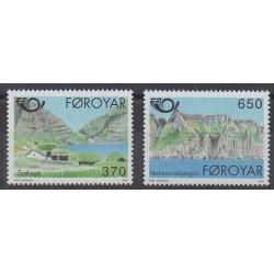 Féroé (Iles) - 1991 - No 215/216 - Tourisme