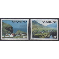 Faroe (Islands) - 1993 - Nb 242/243 - Tourism