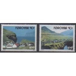 Féroé (Iles) - 1993 - No 242/243 - Tourisme