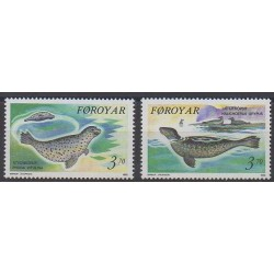 Faroe (Islands) - 1992 - Nb 231/232 - Mamals