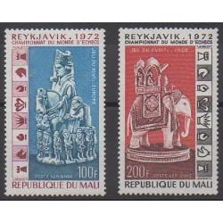 Mali - 1973 - No PA172/PA173 - Échecs