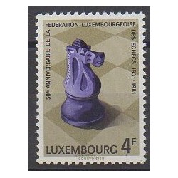 Luxembourg - 1981 - Nb 983 - Chess