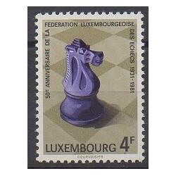 Luxembourg - 1981 - No 983 - Échecs