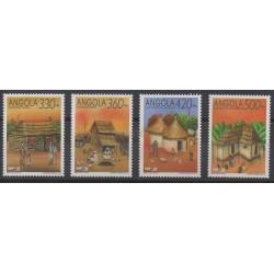 Angola - 1992 - Nb 858/861