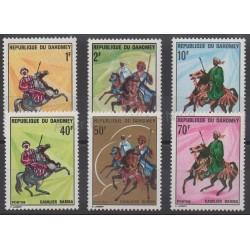 Dahomey - 1970 - No 297/302 - Chevaux