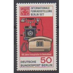 Allemagne occidentale (RFA - Berlin) - 1977 - No 512 - Télécommunications