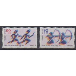 West Germany (FRG - Berlin) - 1979 - Nb 550/551 - Various sports