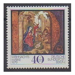 West Germany (FRG - Berlin) - 1979 - Nb 572 - Christmas