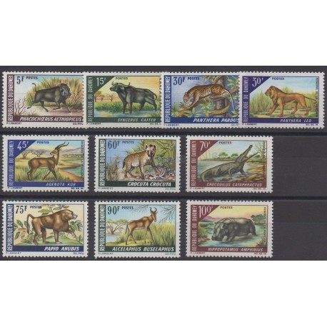 Dahomey - 1968 - Nb 265/274 - Animals