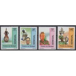 Sénégal - 1989 - No 842/845 - Artisanat ou métiers