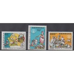 Sénégal - 1984 - No 615/617