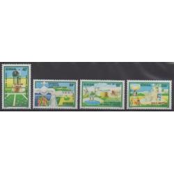 Sénégal - 1985 - No 627/630 - Environnement