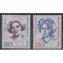 Allemagne occidentale (RFA - Berlin) - 1989 - No 805/806 - Célébrités