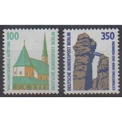 West Germany (FRG - Berlin) - 1989 - Nb 795/796 - Churches