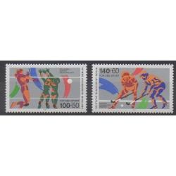 West Germany (FRG - Berlin) - 1989 - Nb 797/798 - Various sports