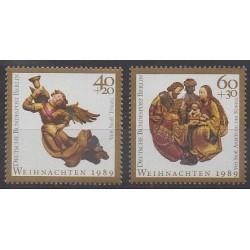West Germany (FRG - Berlin) - 1989 - Nb 819/820 - Christmas