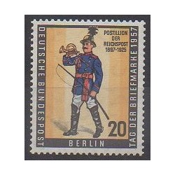 West Germany (FRG - Berlin) - 1957 - Nb 156 - Costumes - Philately