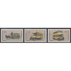 West Germany (FRG - Berlin) - 1973 - Nb 411/413 - Transport