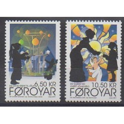 Féroé (Iles) - 2011 - No 732/733 - Noël