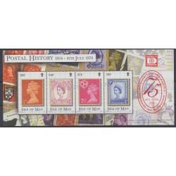 Man (Ile de) - 2001 - No BF 47 - Timbres sur timbres
