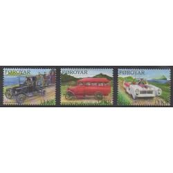 Faroe (Islands) - 2011 - Nb 729/731 - Cars