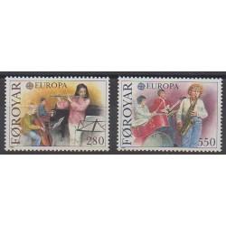 Féroé (Iles) - 1985 - No 110/111 - Musique - Europa