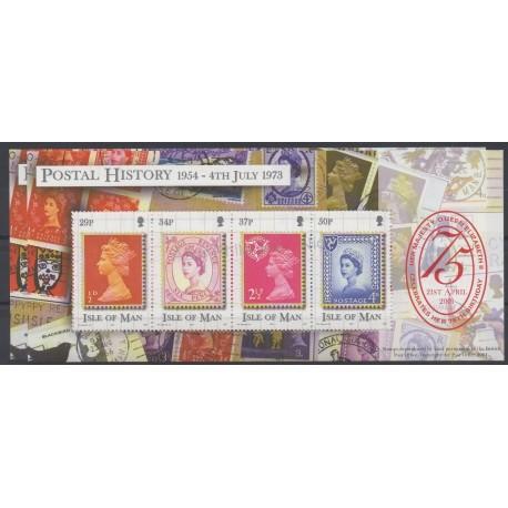 Man (Ile de) - 2001 - No BF46 - Timbres sur timbres
