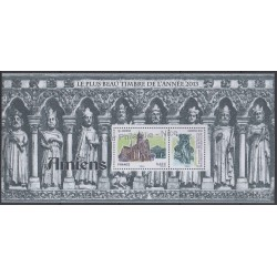 France - Souvenir sheets - 2014 - Nb BS 99 - Churches