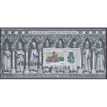 France - Bloc souvenir - 2014 - No BS 99 - Eglises