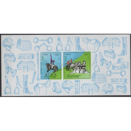 France - Souvenir sheets - 2014 - Nb BS 97 - Sport