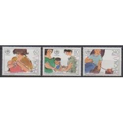 Macao - 1988 - No 564/566 - Santé ou Croix-Rouge