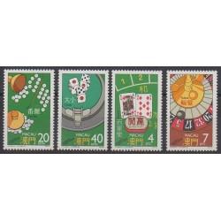 Macao - 1987 - No 551/554
