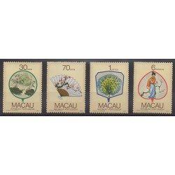 Macao - 1987 - Nb 547/550 - Art