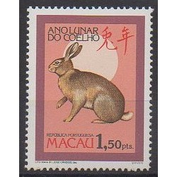 Macao - 1987 - No 540 - Horoscope