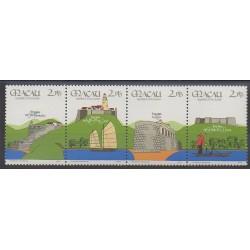 Macao - 1986 - No 535/538 - Châteaux