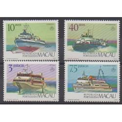 Macao - 1986 - Nb 531/534 - Boats
