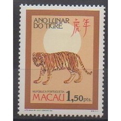 Macao - 1986 - No 523 - Horoscope
