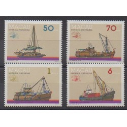 Macao - 1985 - Nb 519/522 - Boats