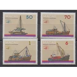 Macao - 1985 - No 519/522 - Navigation