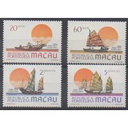 Macao - 1984 - Nb 501/504 - Boats