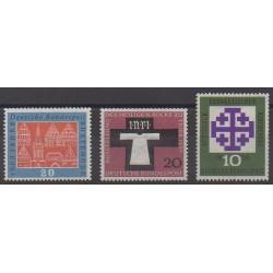 Allemagne occidentale (RFA) - 1959 - No 185/187